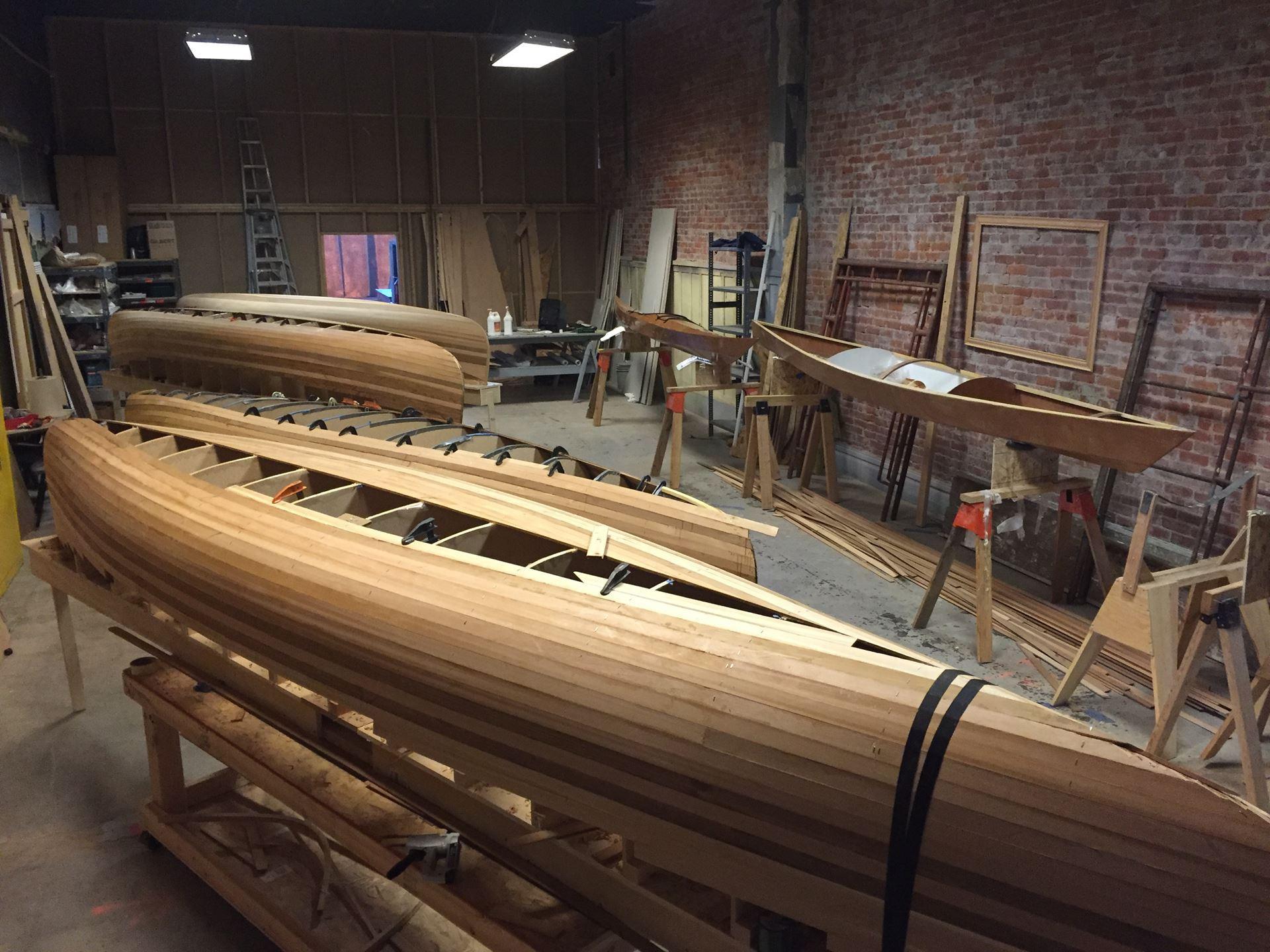 Yakima Maker Space Canoe Kayak Build